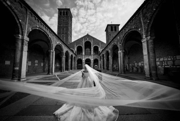 Basilica di Sant'ambrogio - milano - matrimonio