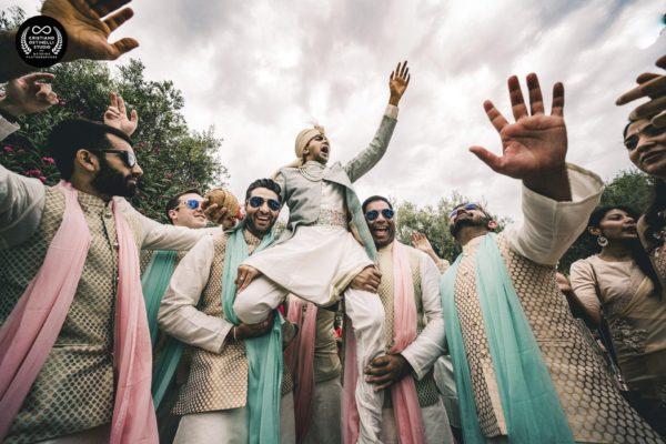 taormina wedding - the groom