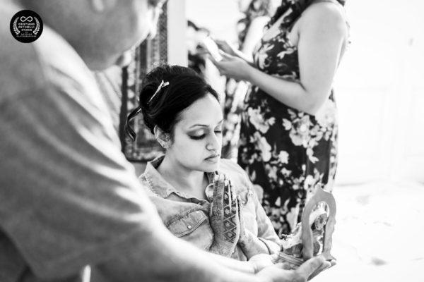 taormina wedding - wedding bride getting ready