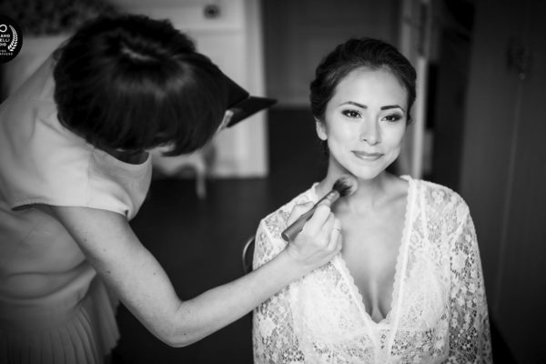 villa melzi wedding - cristiano ostinelli - the bride ready